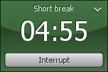 5 minut (krátká pauza)