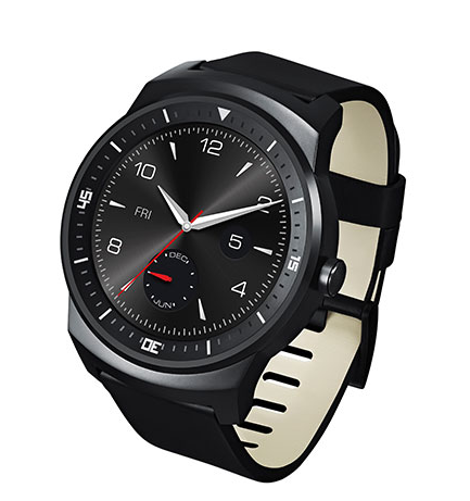 Chytré hodinky LG G Watch R vypadají na první pohled jako klasické hodinky.