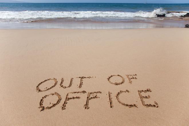 Nejsem v kanceláři